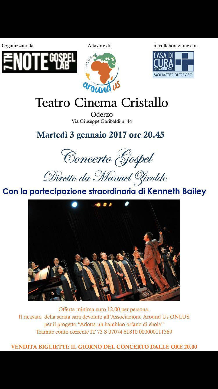 CONCERTO GOSPEL con 7th Note Gospel Lab a Oderzo