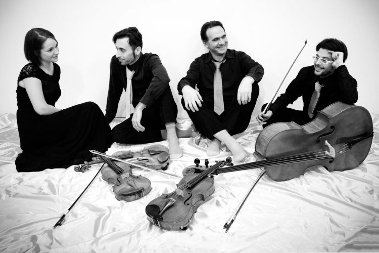 gruppo pop swing classico musicale il quartett associazione phileo