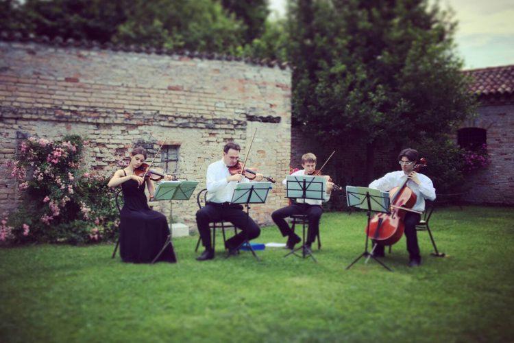 quartetto musicale associazione phileo string quartet matrimonio